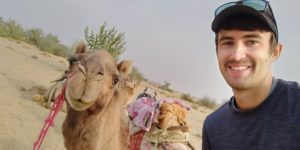 Jaisalmer India camel safari