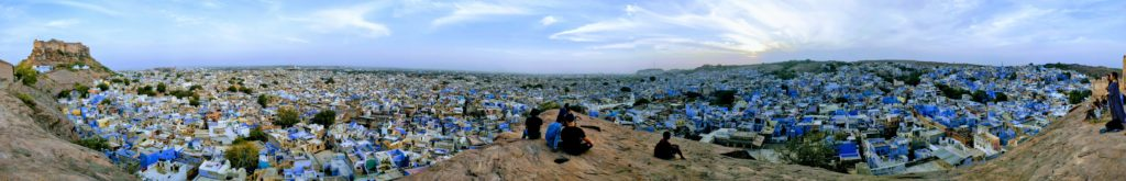 Jodpur panorama blue city