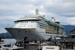 Radiance of the Seas Royal Caribbean cruise in Alaska